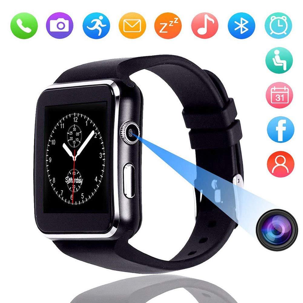 ZDY Smart Watch X6, teléfono táctil Smartwatch Impermeable ...