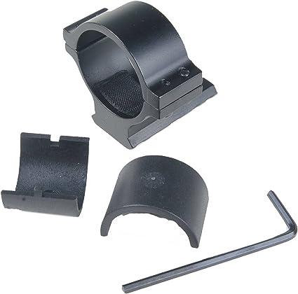 """1/"""" 25.4mm Anillo 20mm de montaje en carril Weaver Picatinny Para Rifle Alcance Y Linterna"""