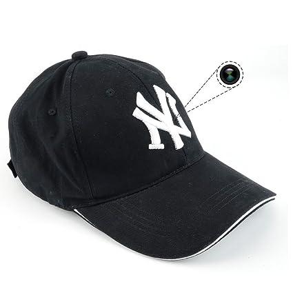 Cámara espía TenSky 8 GB, 1920 x 1080P HD en gorra de béisbol, para