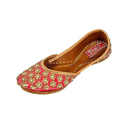SHAHI PUNJABI FOOTWEAR Rose Pink Jutti