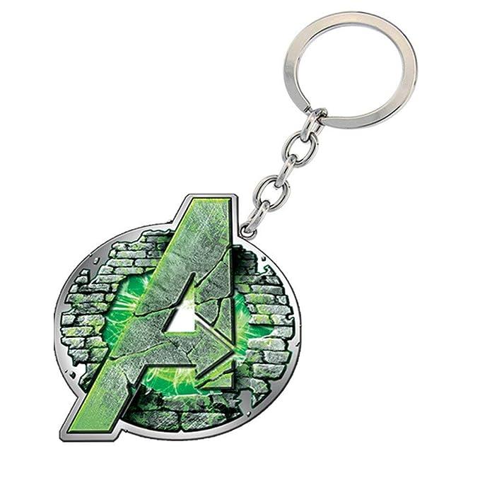 Marvel BB - Llavero - Unisex adulto, Hulk, Talla única ...