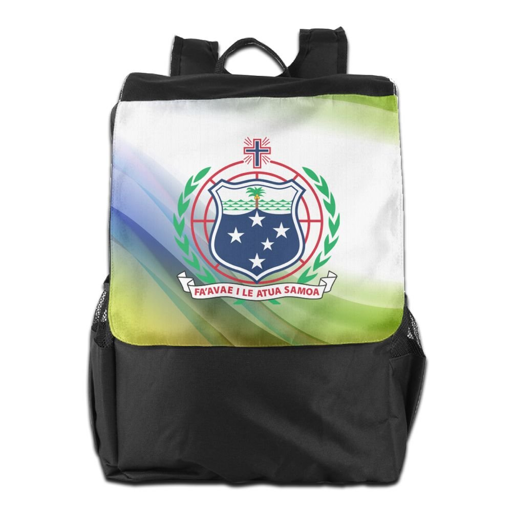 Nollm Coat Of Arms Of Samoa Lightweight Backpack Travel Shoulder Bag For Men Women And Teens