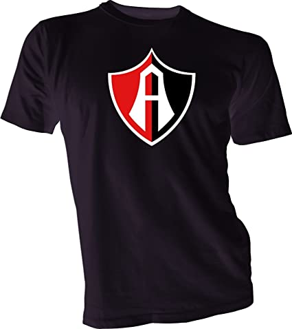 CLUB ATLAS Guadalajara Mexico Futbol Soccer Black T-SHIRT Camiseta NEW Size s-4x
