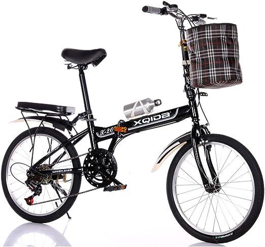 Bicicleta Plegable De Una Sola Velocidad De 20 Pulgadas ...