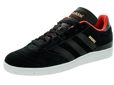 9f60c689037 adidas Busenitz Black Black Red Skate Shoes-Men 12.0