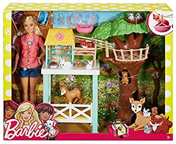 Barbie Animal Rescuer Doll & Playset 4