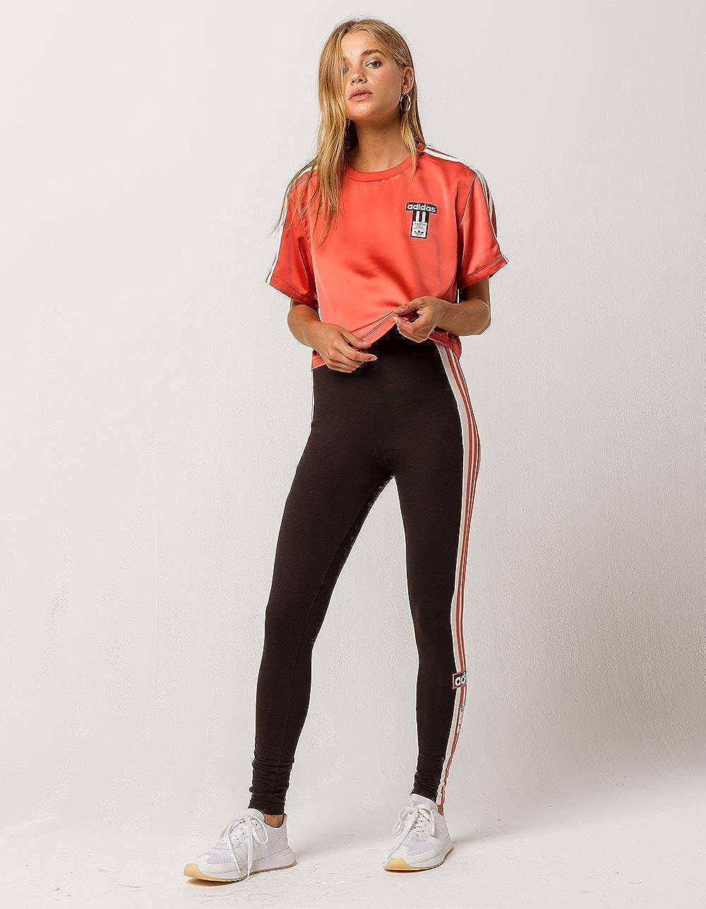 eacdb57dec6d37 Adidas Adibreak Satin Crop Top at Amazon Women s Clothing store