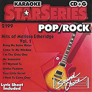 Karaoke CDG - Hits Of Melissa Etheridge Vol. 1