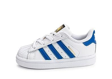 zapatillas adidas superstar azules