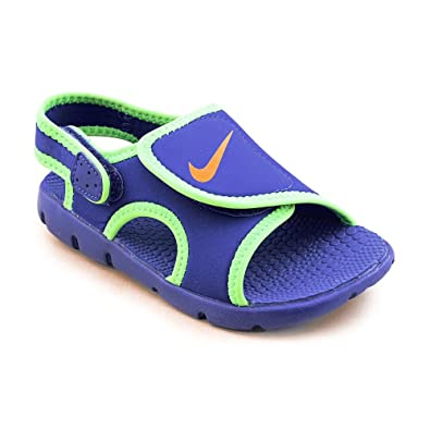 e3e36f846bd4 Nike Sunray Adjust 4 Toddler Boys Blue Slingback Sandals Shoes 4.5 UK   Amazon.co.uk  Shoes   Bags