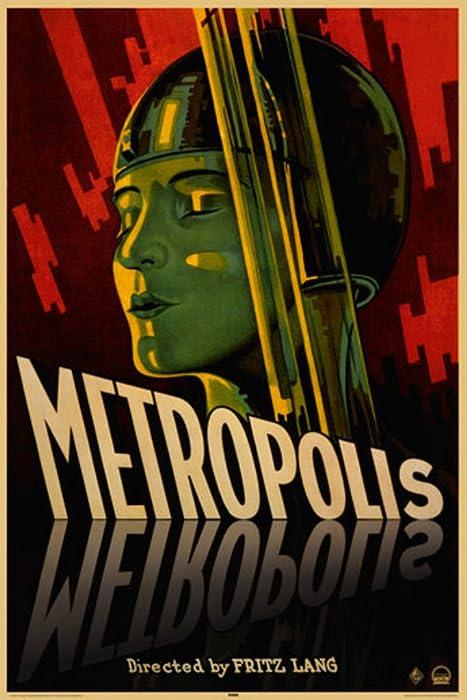 Metropolis Fritz Lang Movie Cool Wall Decor Art Print Poster 24x36