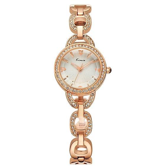 Wishar KIMIO elegante de aleación de relojes moda mujer reloj de pulsera, fresco único Ladies