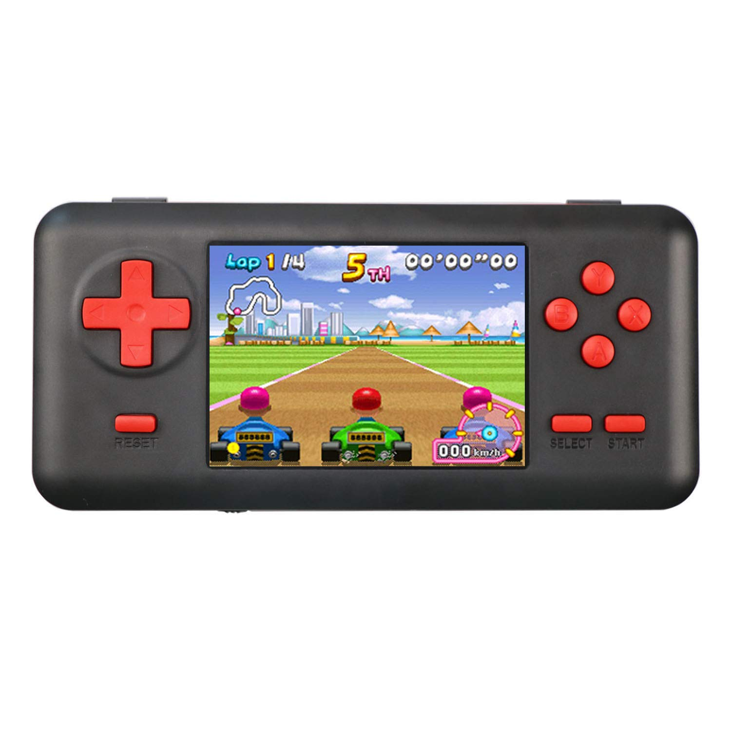 JAFATOY Handheld Games Console Built-in 150 Classic Games 8 Bit Games with AV Cable Can Play on TV Great for Adults Kids (Support TF Card Extensions)