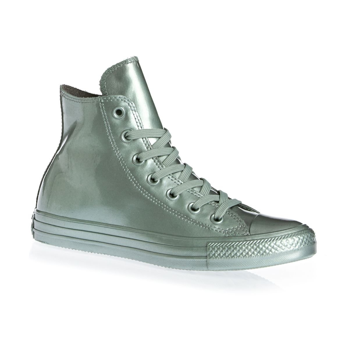 Argent Converse All Star Hi Chaussures Chaussures Chaussures Montantes pour Femmes 460