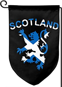 Lion Rampant Scotland Scottish Garden Flag For All Seasons Vertical Double Sided 12.5 X 18 Inch Fillet