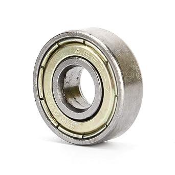 10Pcs 608ZZ Rodamientos rígidos de bolas 8 * 22 * 7 mm para ...
