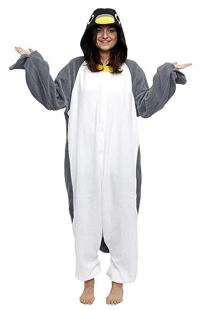 Forro polar Pijama Kigurumi – Pingüino XL