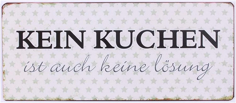 Zitaten im Vintage Style in 4 Designs Coole kleine Metallschild mit Sprüchen