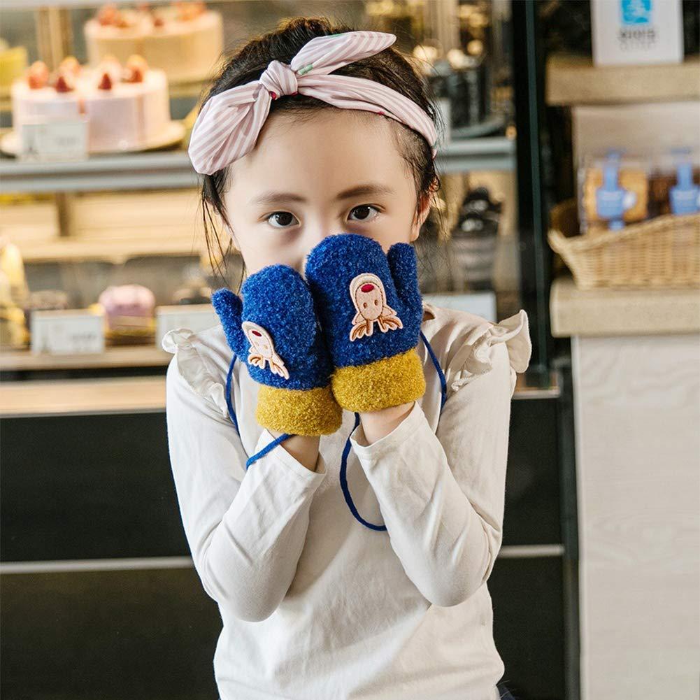 710f9b3da6 Niedliche Fäustlinge Kleinkinder 1-3 Jahre Handschuhe Mädchen Jungen  Kinderhandschuhe warm dicke Fingerhandschuhe modisch Wollhandschuhe weich  Gloves mit ...