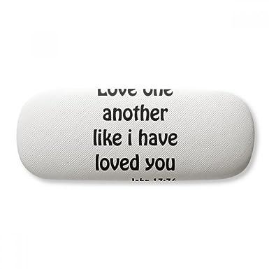 Amazon.com: Love One - Estuche para gafas con citas ...
