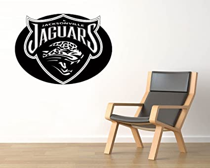 Jacksonville jaguar logo wall vinyl decals american football logotype game team vinyl decals vinyl murals stickers