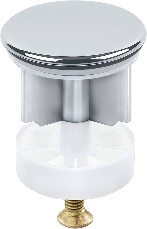 Revestimiento Cromado Accesorios para ba/ño 40 mm Colador de Fregadero Tapa de Drenaje para Lavabo Extensi/ón del Tfregadero TRIXES Tap/ón para Fregadero