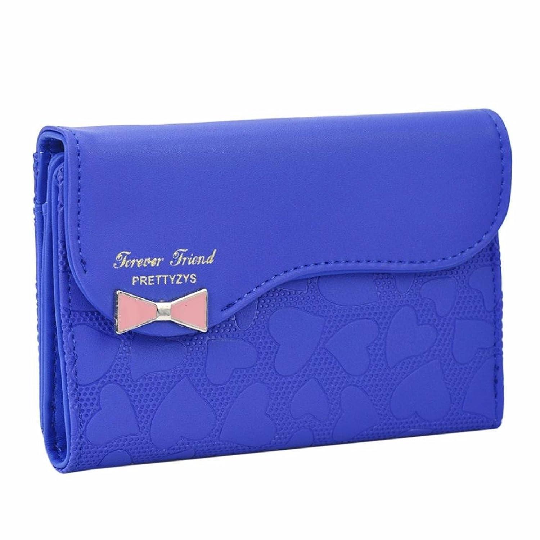 Hot Pink GBSELL Women Clutch Long Bow Pendant Purse Wallet Card Holder Handbag Bag