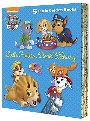 PAW Patrol Little Golden Book Library (PAW Patrol) (Paw Patrol: Little Golden Books)