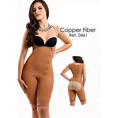 b63c55ab549 Full Body Shaper with Lateral Zipper by Wonder Fit at Amazon Women s  Clothing store