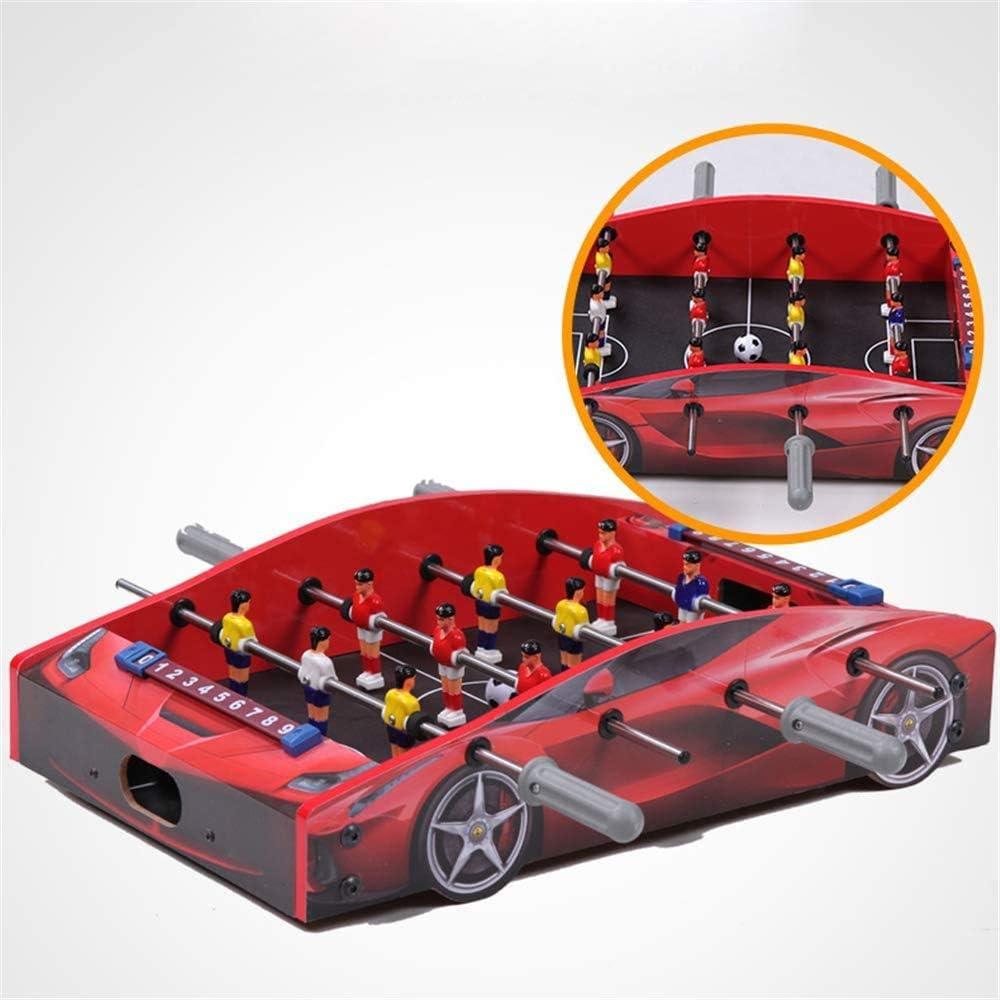 YUHT Futbolín Infantil,Mesa de futbolín de diseño de Modelado de automóviles, Mini Juegos de Billar portátiles de sobremesa, mesas de fútbol, Juegos de competición: Amazon.es: Deportes y aire libre