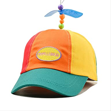 WENHAODJ Color de Abanico de Dibujos Animados Gorra de béisbol Padre-Hijo Viajes al Aire Libre Sombrero para el Sol Color Adulto: Amazon.es: Ropa y accesorios
