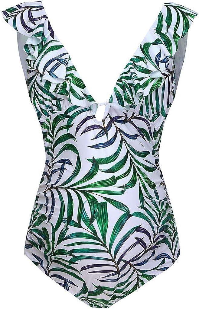 XXYsm Umstands-Badeanzug V-Ausschnitt Einteilige Bikinis Schwimmanzug Schwanger Drucken Tankinis Strand Swimwear