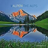 Alpen 2017 - The Alps - Broschürenkalender (30 x 60 geöffnet) - Landschaftskalender - Wandplaner