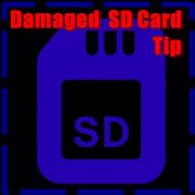 Damaged  SD Card
