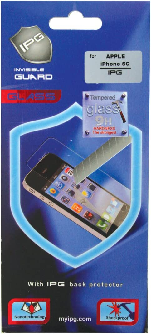 IPG templado cristal Protector de pantalla transparente para iPhone 5 C – Embalaje de venta al por menor: Amazon.es: Electrónica