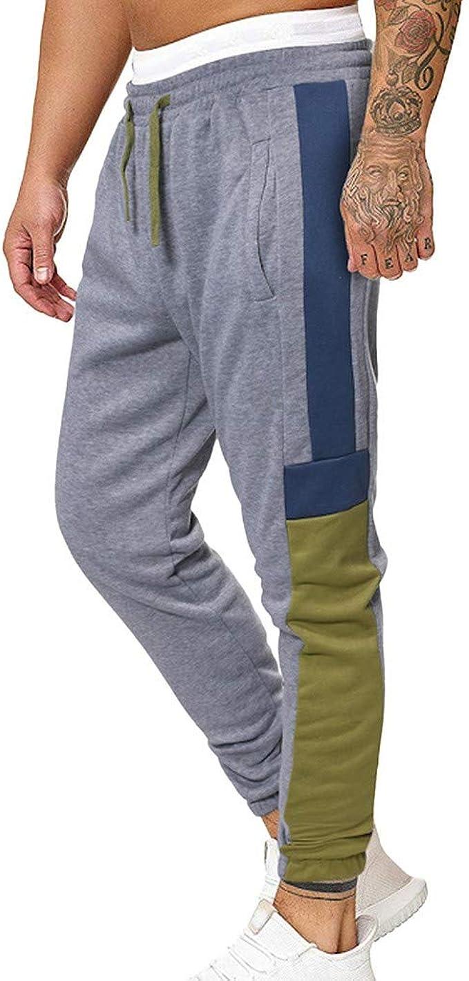 FELZ Pantalones de Chándal de Cintura elástica con cordón de ...