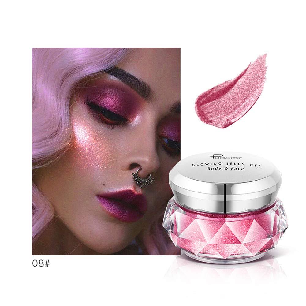 Beauty & Health Jelly Gel Jelly Highlights Fluid Body Highlights Face Cream Mermaid Her Eye Shadow