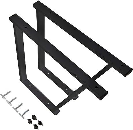 Vw Multivan T5 T6 Pulverbeschichtete Konsole Multiflexboard Mit Schienenbefestigung Schwarze Konsolen Für Vw Bus Modelle T5 Zubehör T6 Bettverlängerung Höhe 51cm 2 Stück Schwarz Baby