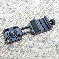 Action camera gun rail mount Cantilever Picatinny Weaver Rail Side Mount for Sony, Contour, Ion, Garmin, Samsung