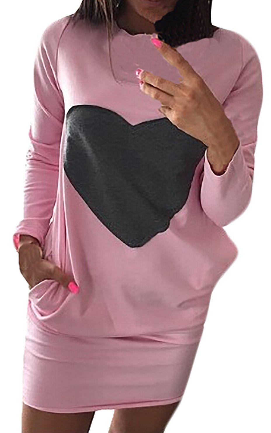 Kleider Damen Wickelkleider Kurz Damen Young Fashion Langarm Schnittmuster  Vintage Elegant Freizeitkleid Blusenkleider: Amazon.de: Bekleidung