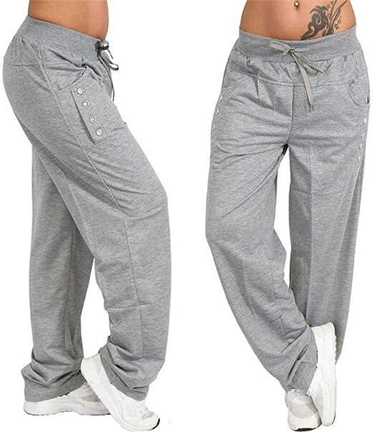 Yhjklm Leg Gym Joggers Pantalones Chándal Partes de Jogging ...