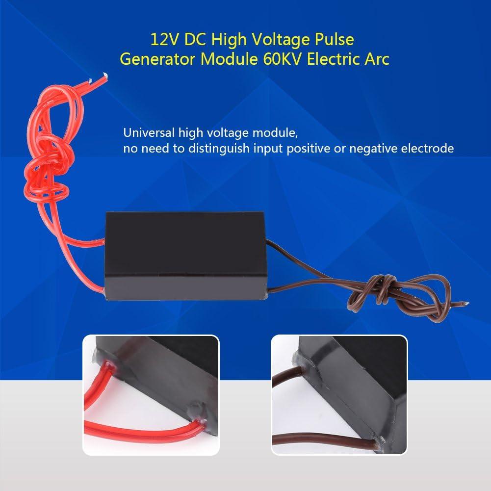High Voltage Generator Module DC 12V High Voltage Pulse Generator 60KV Super Arc Ignition Coil Module