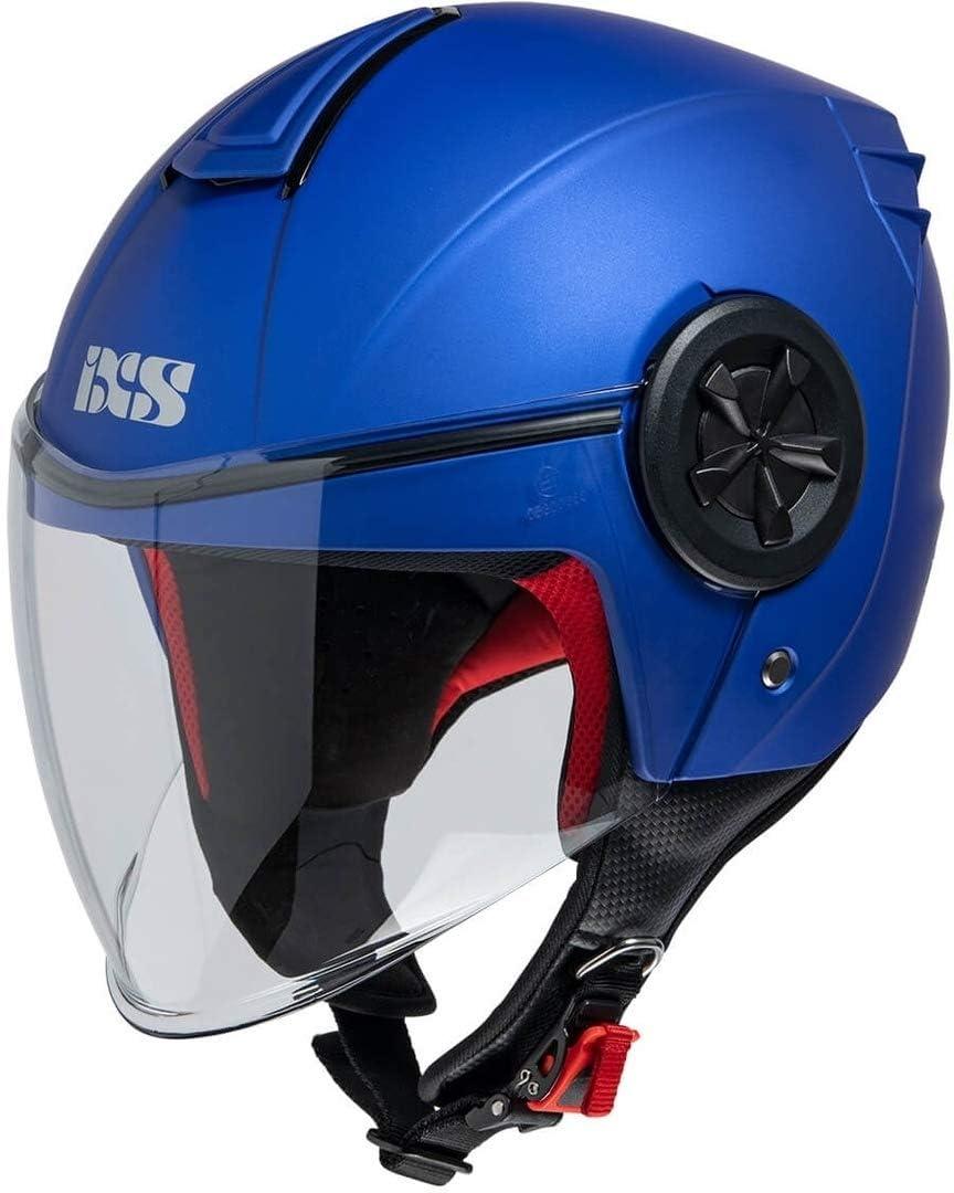 IXS CASCO JET 851 1.0 BLU OPACO XL