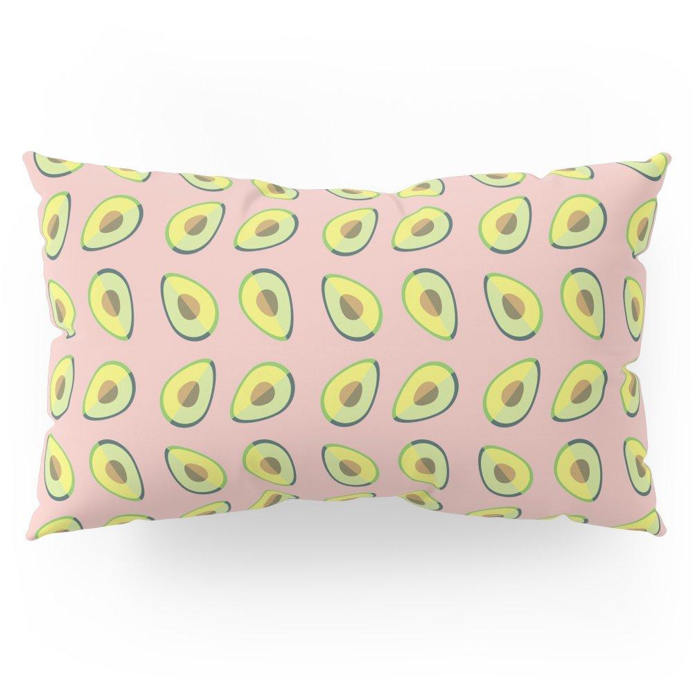 Society6 Avocado Love Pillow Sham King (20'' x 36'') Set of 2