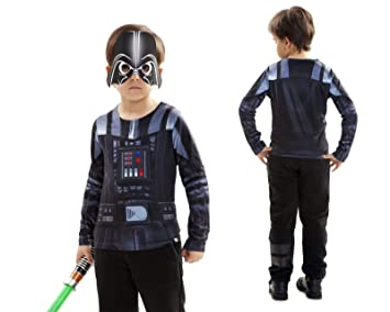 Disfraz Camiseta de Star Wars Darth Vader Original de Carnaval ...