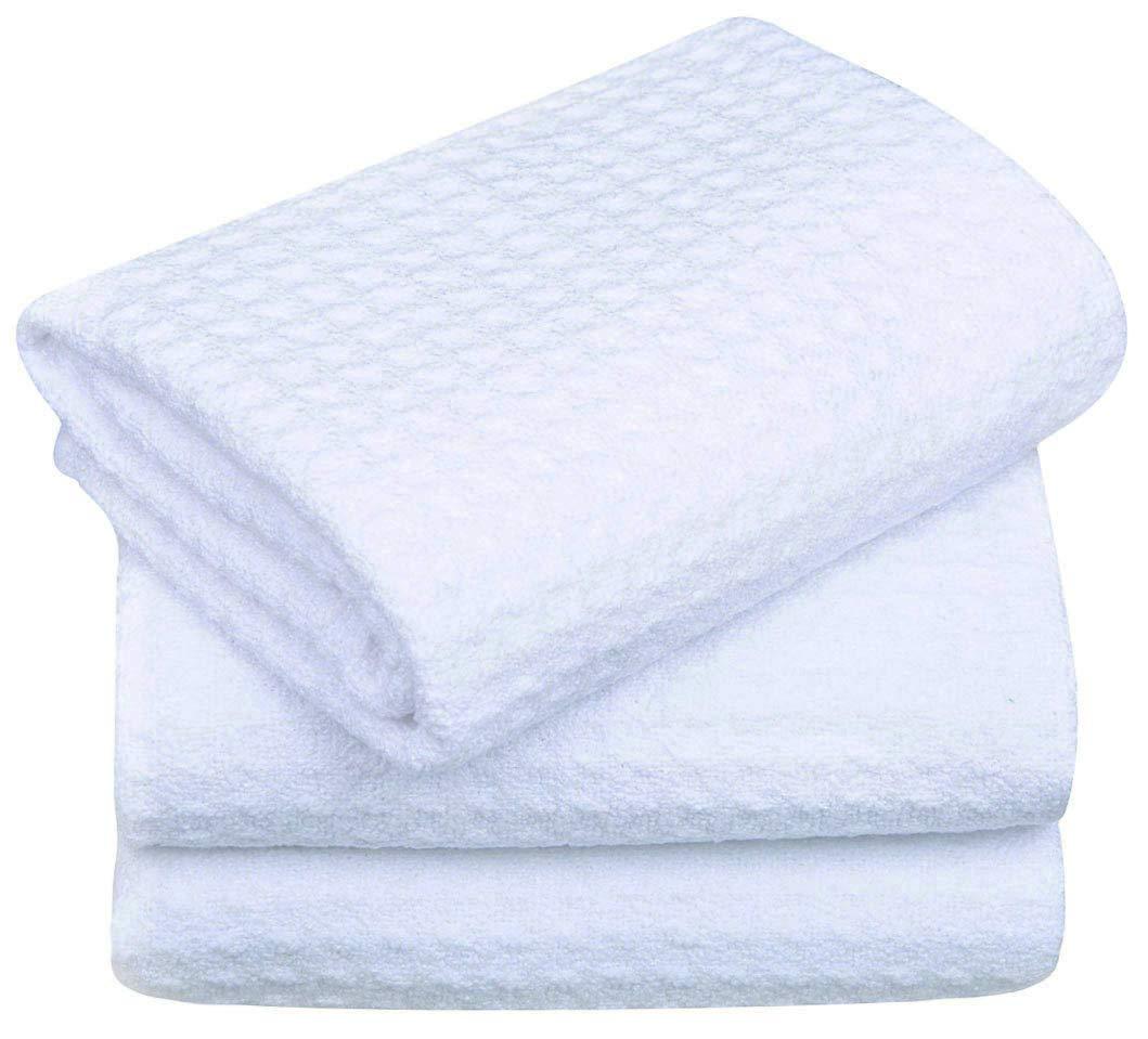 Microfiber Dish Rags: Sinland Microfiber Dish Drying Towels Dish Towels Waffle