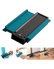 Profile Gauge,Contour Gauge,5 Inch/125 Mm Plastic Profile Contour Gauge Duplicator Wood Marking Tool Tiling Laminate Tiles General Tools