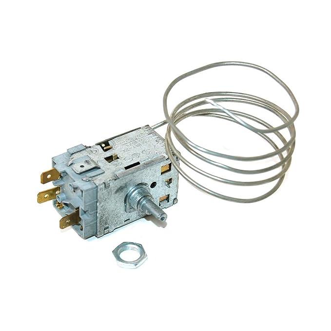Termostato para Eurotech Nevera Congelador equivalente a 651016657 ...