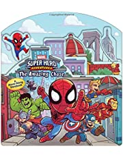 Super Hero Adventures: The Amazing Chase: A Move-Along Adventure
