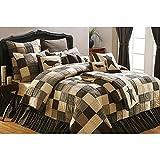 Kettle Grove King Quilt Bundle - 8 Piece Set. Set Contents: 1 King Quilt, 2 King Shams, 1 King Bed Skirt, 2 Euro Shams, 1 Accent Pillow, 1 Pillow